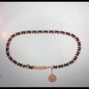 CHANEL Vintage Medallion Chain Link Belt